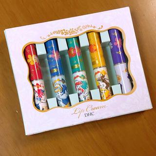 ディズニー(Disney)のDHC プリンセス シンデレラ アリエル ベル ジャスミン リップ 5本セット(リップケア/リップクリーム)