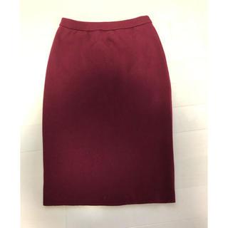 ルシェルブルー(LE CIEL BLEU)のルシェルブルーのニットスカート(ひざ丈スカート)