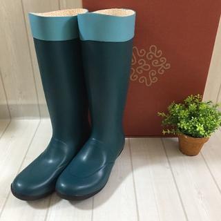 ブルー カナナプロジェクト レインシューズ 長靴 雨具 ガーデニング(レインブーツ/長靴)
