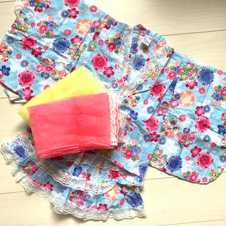ドレス浴衣♡110cm(甚平/浴衣)