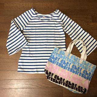 シェル(Cher)のシェル ショア Cher Shore KAMAKURA トップスとエコバッグ(Tシャツ(長袖/七分))