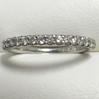 スタージュエリー(STAR JEWELRY)のスタージュエリー  pt950 ダイヤモンド エタニティ リング(リング(指輪))