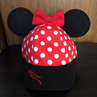 ディズニー(Disney)の香港ディズニーランド  ミニー  キャップ  帽子(キャップ)