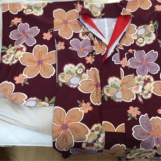 卒業式 二尺袖 袴(振袖)