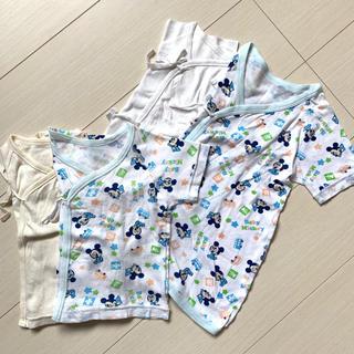 ディズニー(Disney)の新生児肌着♡4枚set(肌着/下着)