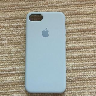 アップル(Apple)のiPhone7 8用 シリコンケース(iPhoneケース)