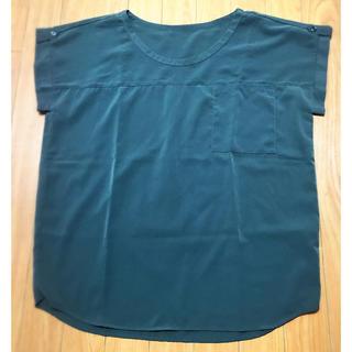 ジーユー(GU)のカットソー GU(カットソー(半袖/袖なし))