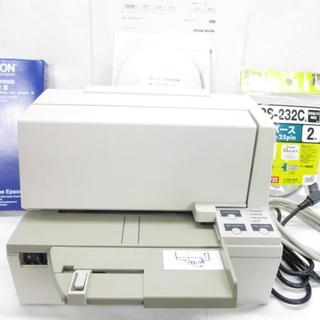 エプソン(EPSON)の宅配便の宛名印刷に最適エプソン小型インパクトプリンターTM-U590取説CD付(PC周辺機器)