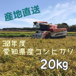 愛知県産コシヒカリ 20㎏(米/穀物)