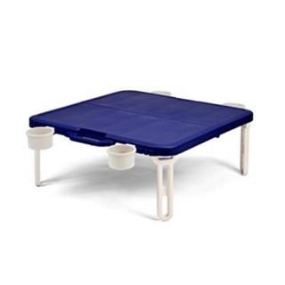 テーブル 折りたたみ  レジャーテーブル  ネイビー(テーブル/チェア)