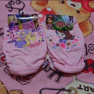 ディズニー(Disney)の120cm 女の子パンツ2枚組2セット(下着)