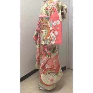 振袖 成人 袴 フルセット 髪飾り付き(振袖)