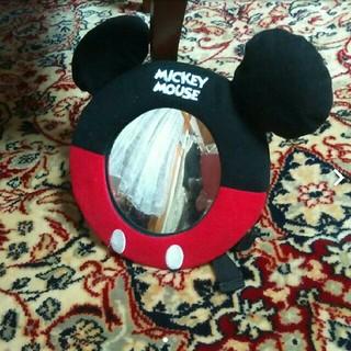 ディズニー(Disney)のディズニーミッキーのミラー 車にチャイルドシートにベビーカーに(ベビーカー用アクセサリー)