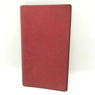 エルメス(Hermes)の⭐︎セール⭐︎ エルメス 手帳カバー ルージュ 赤 小物 HERMES(手帳)