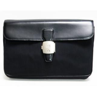 ダンヒル(Dunhill)のdunhillダンヒル セカンドバッグ 黒 メンズ 良品 正規品(セカンドバッグ/クラッチバッグ)