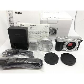 ニコン(Nikon)の⭐美品⭐僅か860Sニコンミラーレス Nikon1 J5 PDズームレンズキット(ミラーレス一眼)