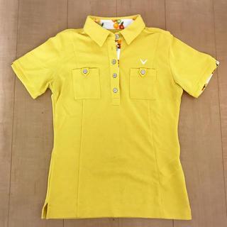 キャロウェイ(Callaway)のCallaway 半袖ポロシャツ レディースS(ウエア)