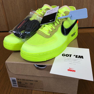 ナイキ(NIKE)のTHE 10 NIKE AIR FORCE 1 LOW 28cm(スニーカー)