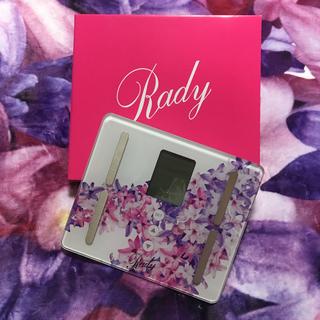 レディー(Rady)のRady・2019♡ノベルティ・エレフラ・ヘルスメーター♡(ノベルティグッズ)