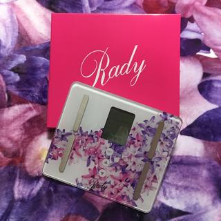 レディー(Rady)のRady2019ノベルティ♡ヘルスメーター♡(ノベルティグッズ)