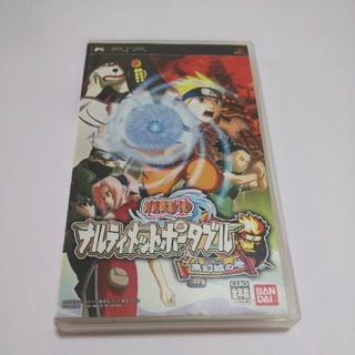 プレイステーションポータブル(PlayStation Portable)のPSP NARUTO ナルティメットポータブル 無幻城の巻(携帯用ゲームソフト)