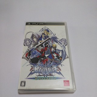 プレイステーションポータブル(PlayStation Portable)のPSP プレイブルー ポータブル(携帯用ゲームソフト)