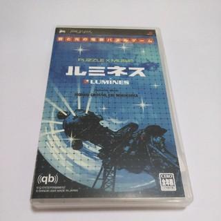 プレイステーションポータブル(PlayStation Portable)のPSP ルミネス LUMINES(携帯用ゲームソフト)