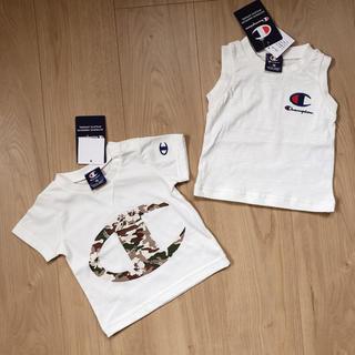 【新品・タグ付】サイズ70*チャンピオン Tシャツ 2枚セット