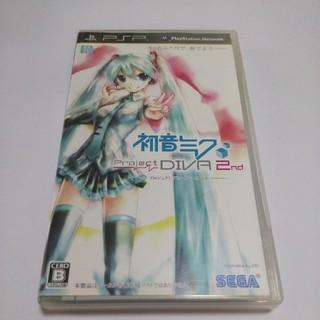 プレイステーションポータブル(PlayStation Portable)のPSP 初音ミク Project DIVA 2nd(携帯用ゲームソフト)