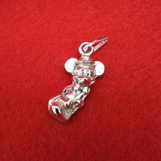 ディズニー(Disney)のミッキーマウス★ペンダントトップ★シルバー 925★ディズニー(ネックレス)