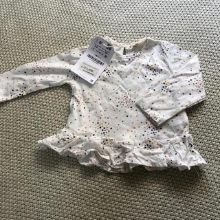 ザラ(ZARA)のZARA mini 星柄 ロンT 68cm(Tシャツ)