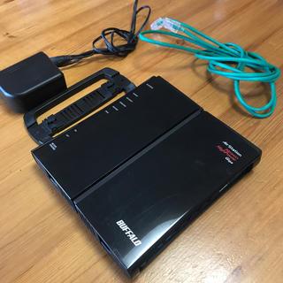 バッファロー(Buffalo)のBUFFALO バッファロー 無線LAN 親機 WZR-HP-G301NH(PC周辺機器)