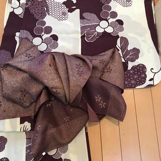 【星香様専用】紫の兵児帯(浴衣帯)
