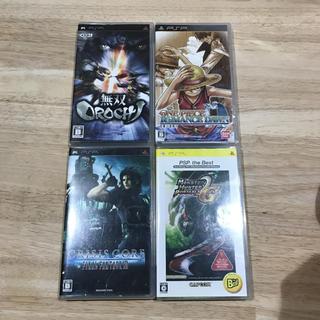 プレイステーションポータブル(PlayStation Portable)のPSP ソフト まとめ売り(携帯用ゲームソフト)