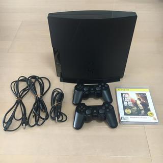 プレイステーション3(PlayStation3)のPS3本体+コントローラー2個+ソフト(家庭用ゲーム本体)