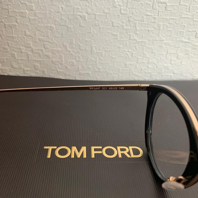 TOM FORD(トムフォード)のTOM FORD TF5497 001 メンズのファッション小物(サングラス/メガネ)の商品写真