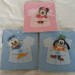 ディズニー(Disney)の廃盤品!【3個セット】ディズニー ボタンマスコット(各種パーツ)