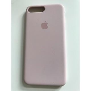 アップル(Apple)の【極美品】iPhone7plus/8plus 純正 シリコンケース(iPhoneケース)