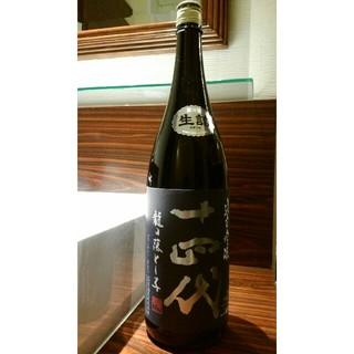 日本酒 十四代龍の落とし子 純米吟醸1800ml 2019.3月製造(日本酒)
