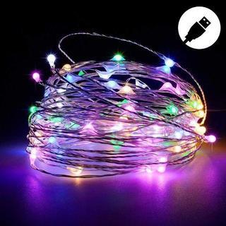 LEDライト イルミネーションライト 10M 100球LED (蛍光灯/電球)