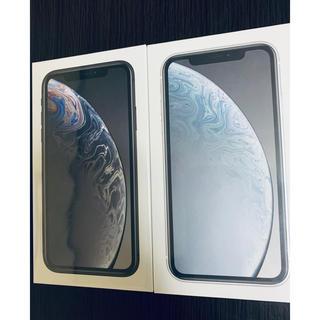 アップル(Apple)のiPhone XR 64GB Softbank系SIM○(スマートフォン本体)