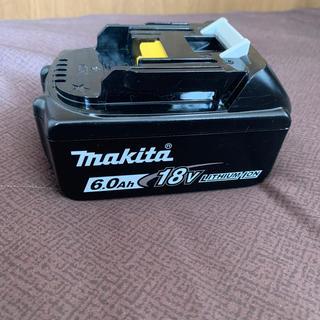 Makita - マキタ18v 6.0Ahバッテリー
