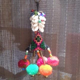 チチカカ(titicaca)のアジアン雑貨 キーホルダー チャーム(その他)