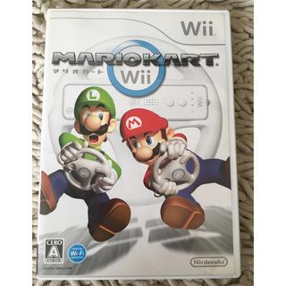 ウィー(Wii)のwii マリオカート 任天堂(家庭用ゲームソフト)