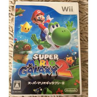 ウィー(Wii)のwii  MARIOGALAXY2 マリオギャラクシー(家庭用ゲームソフト)