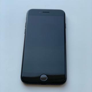 アイフォーン(iPhone)のSIMフリー iPhone7 アイフォン7  ブラック 黒 シムフリー(スマートフォン本体)