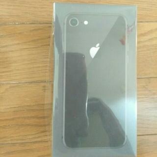アイフォーン(iPhone)のiphone8 64GB ブラック 新品 SIMフリー(スマートフォン本体)