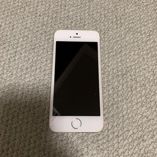 アップル(Apple)のiPhone 5s Gold 32 GB Softbank(スマートフォン本体)
