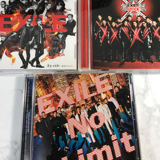 EXILE シングル限定盤DVD付 3枚セット(ポップス/ロック(邦楽))