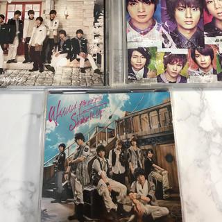Kis-My-Ft2 シングル限定盤DVD付 3枚セット(ポップス/ロック(邦楽))
